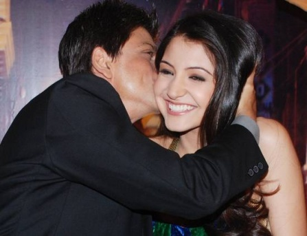 kissing photos of anushka sharma. They had shot the kiss during